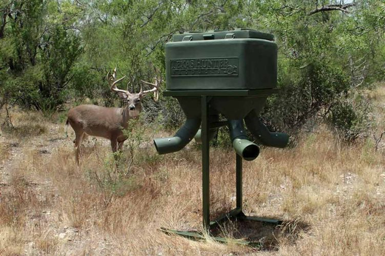Texas Hunter Deer Feeder